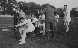 LSE Sports Day, Malden Sports Ground c1920s - http://archives.lse.ac.uk/