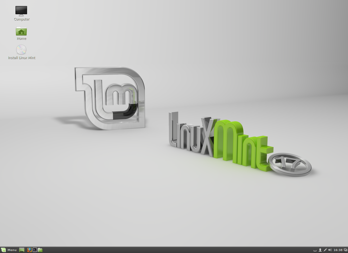 Mint17 Cinnamon Desktop