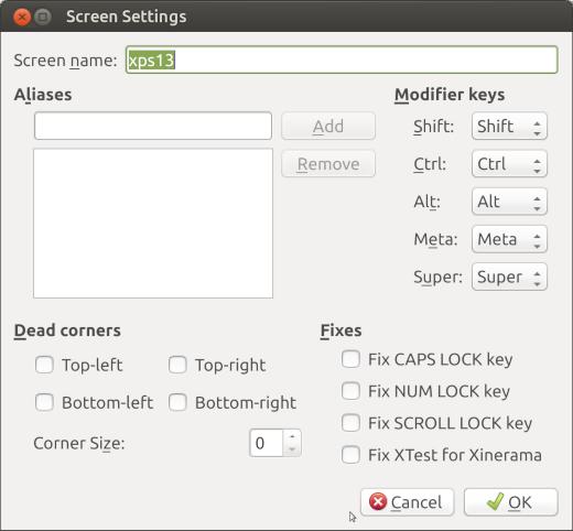 Barrier Server Configuration