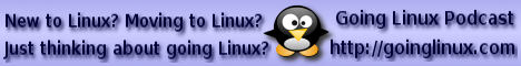 Going Linux Podcast Banner