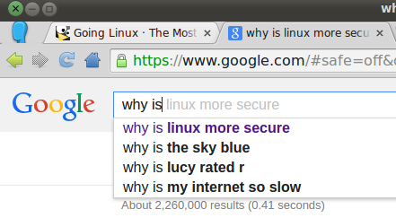 Google, why is...?