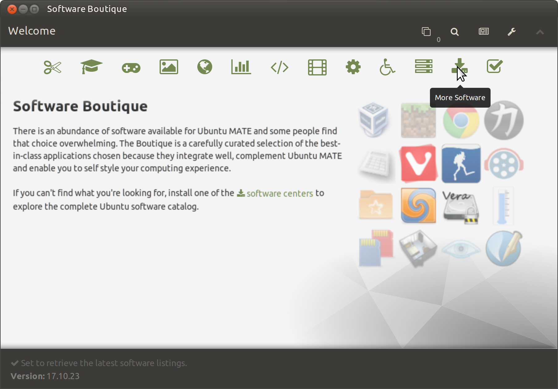 Going Linux · Using the Ubuntu MATE Software Boutique